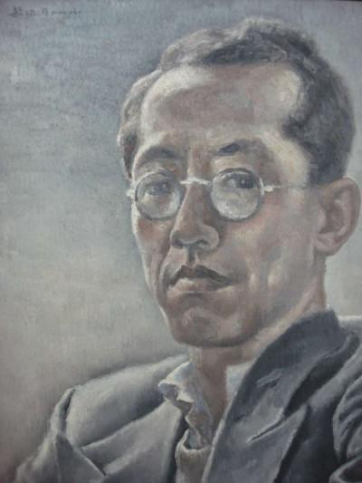 Autoportrait aux lunettes - Toshio Bando