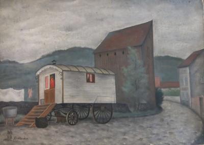 La roulotte blanche - Toshio Bando