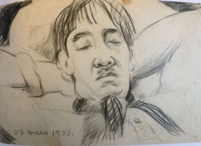 portrait de foujita-toshio bando