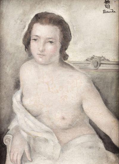 jeune fille en buste -toshio bando
