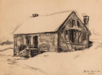 maison sous la neige-toshio bando
