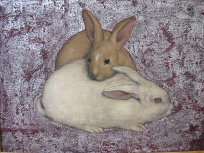 """141/ja/""""deux lapins suDeux lapins de Toshio Bando"""
