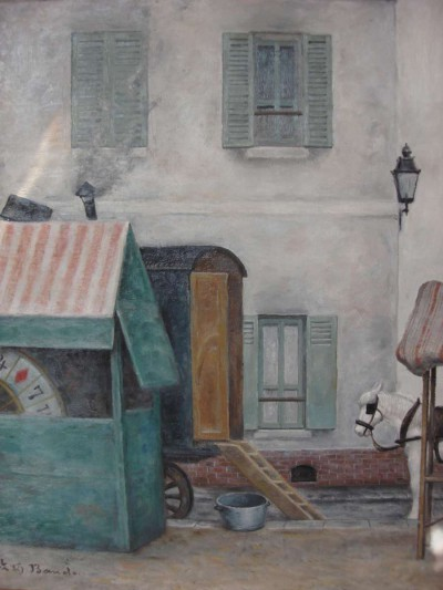 Loterie et roulotte - Toshio Bando