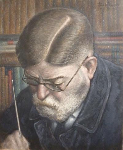M. Aumont, conservateur du musée de sèvres - 1938 - Toshio Bando