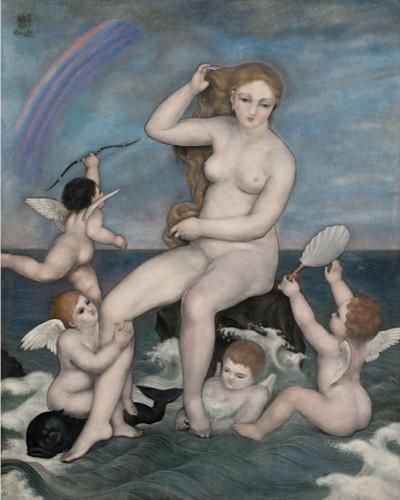 Venus sauvée des eaux - 1926 - Toshio Bando
